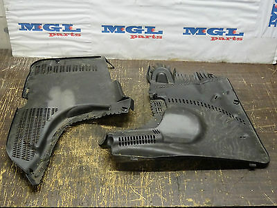 MERCEDES CLS320 CDI W219 PAIR ENGINE COMPARTMENT COVER A 2118320508   05-10