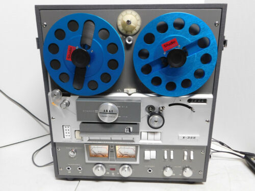 Excellent AKAI X-355 Reel-to-Reel Player Recorder ~ Serviced works Great