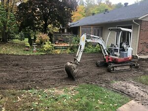 VICTOR LANDSCAPING - EXCAVATION