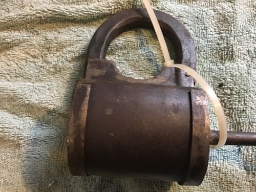 Vintage  Lock Prison Train Padlock