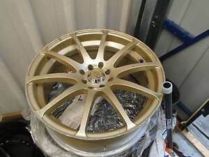 18 X 8-1/2INCH 3 TYRES AND 4 RIMS 70% - 50% tread suit lancer etc Walloon Ipswich City Preview