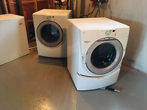 GE washer/dryer combo