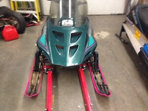 1996 attic cat prowler 2 up sled