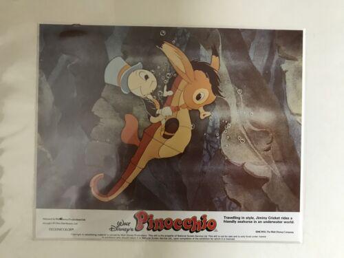 Pinocchio - Walt Disney - Original Mounted Lobby Card 1