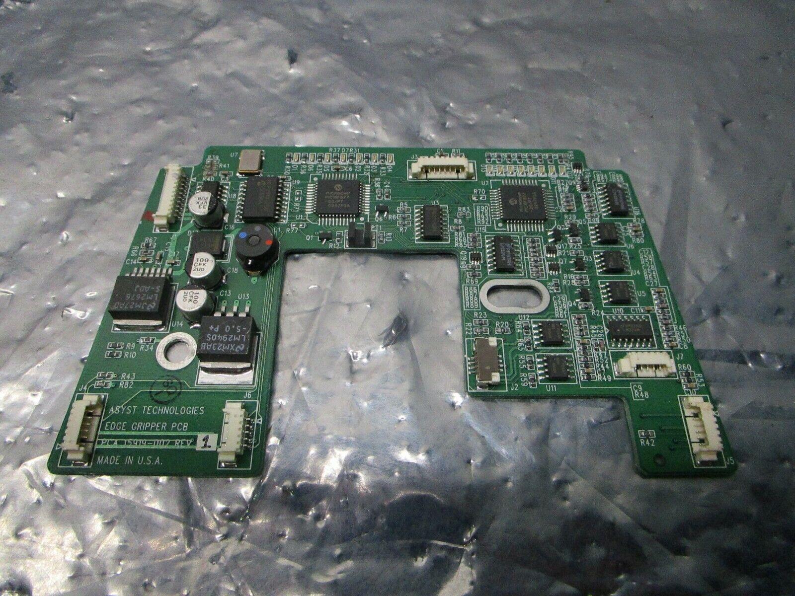 Asyst 15919-002 Edge Gripper PCB, FAB 15918-002, 101184