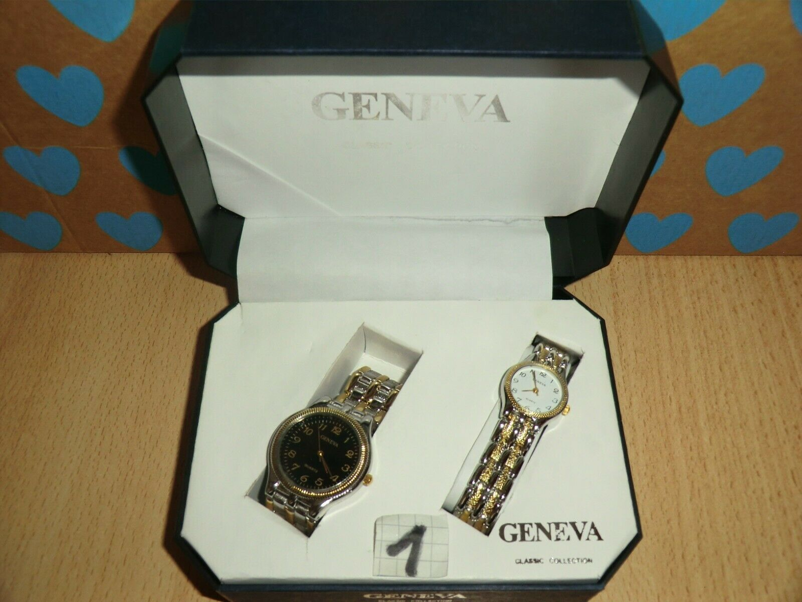 Uhren Set Geneva , 2 Damenuhren , neuwertig in Originalbox