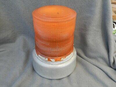 Whelen Engineering Beacon Light Strobe Light Orange