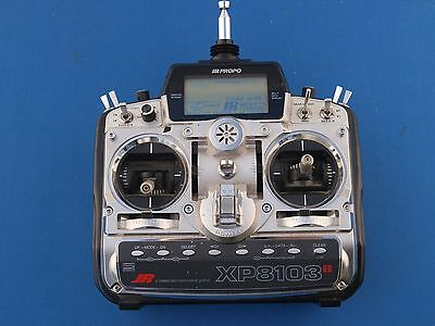 JR XP8103 TRANSMITTER