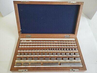 Fowler 52-671-050 Metric Gage Block Set