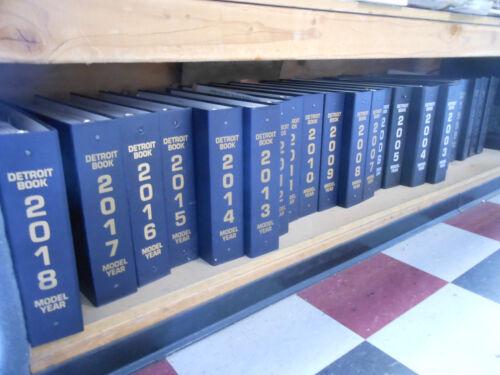 Detroit Automotive Fabric Books -   1984 - 2002