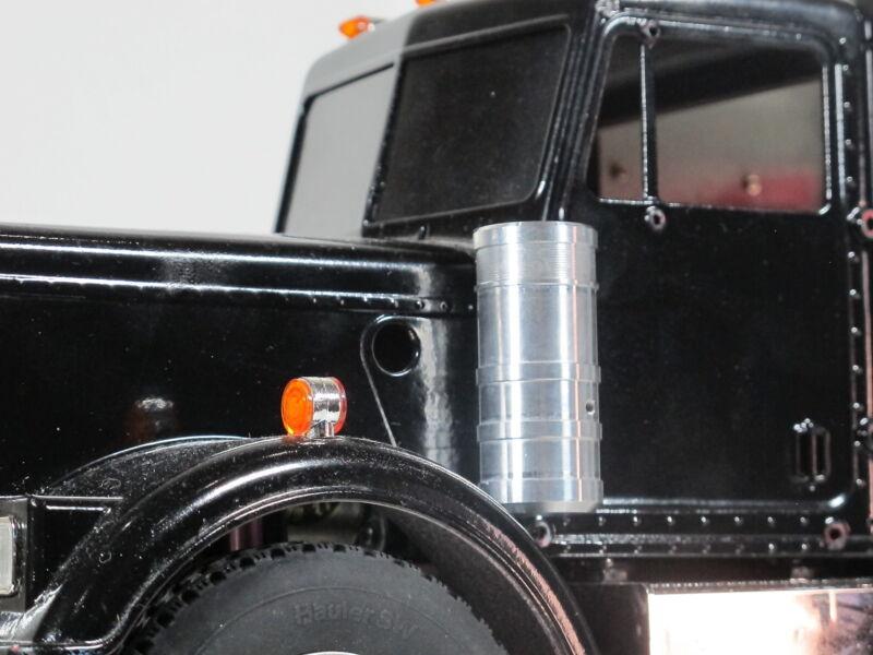 Simulate L&R Aluminum Air Cleaner Intake Block Tamiya RC 1/14 Grand King Hauler