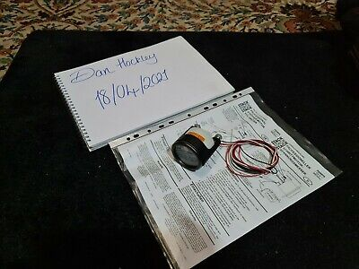 Stack 52mm electrical volt/ battery Gauge