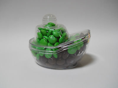 12 sets Mini boat shape containers, C-thru plastic for Party Favor,Bar Mitzvah,.