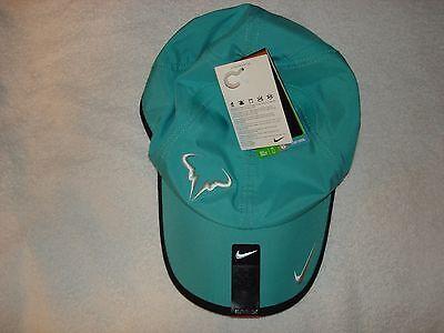 89d01e3a6c6b7 NWT Nike Nadal Dri-FIT Rafa Bull Feather Light Tennis Hat Cap 398224-363  RARE