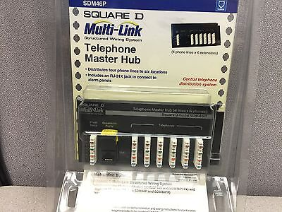 SQD SDM46P TELEPHONE MASTER HUB Telephone Master Hub