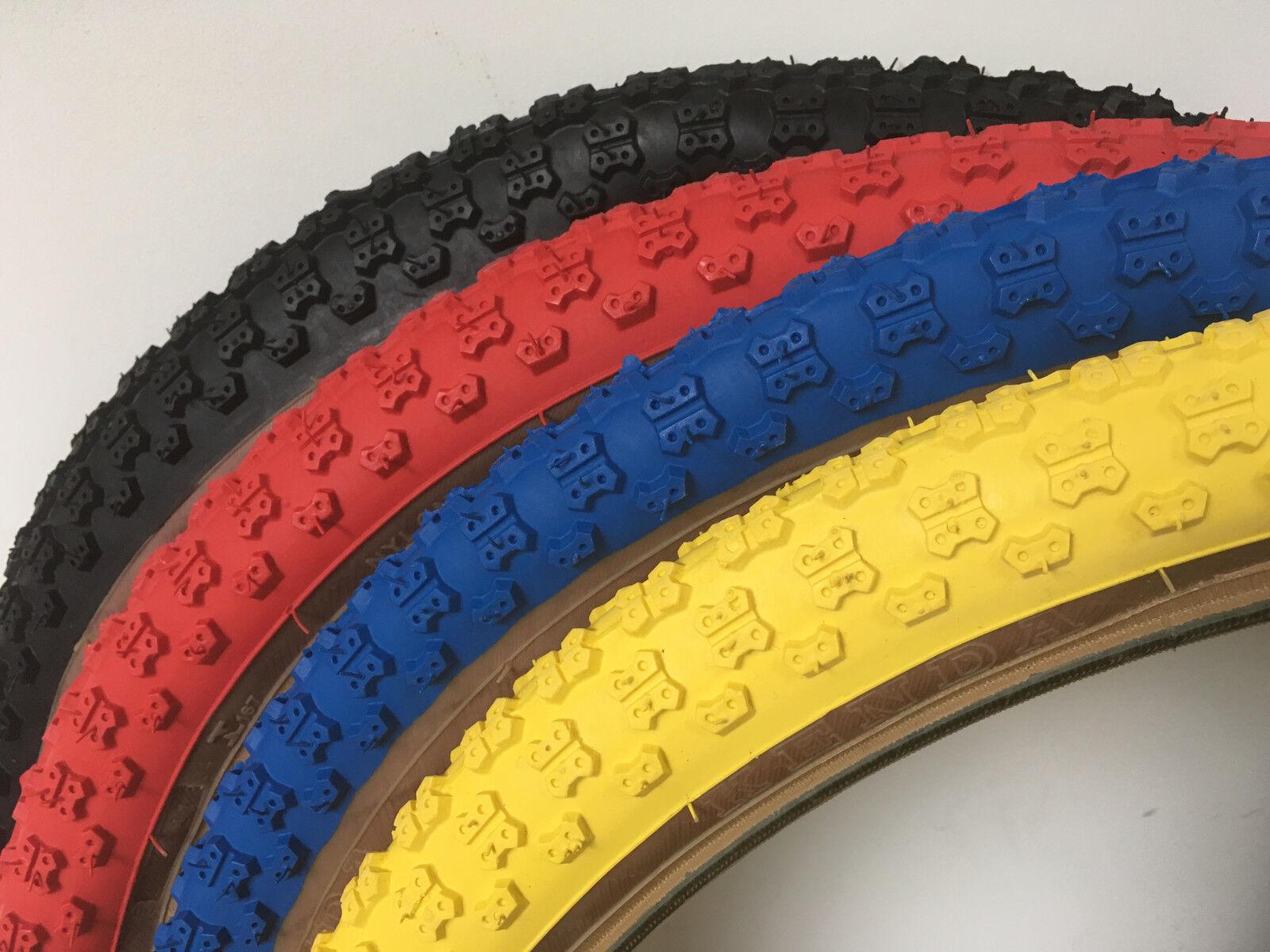 24 x 1.75 Yellow Comp 3 III tread Kenda Skinwall BMX Tire