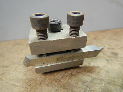 Older Small Unimat Metal Lathe Tool Post Assembly