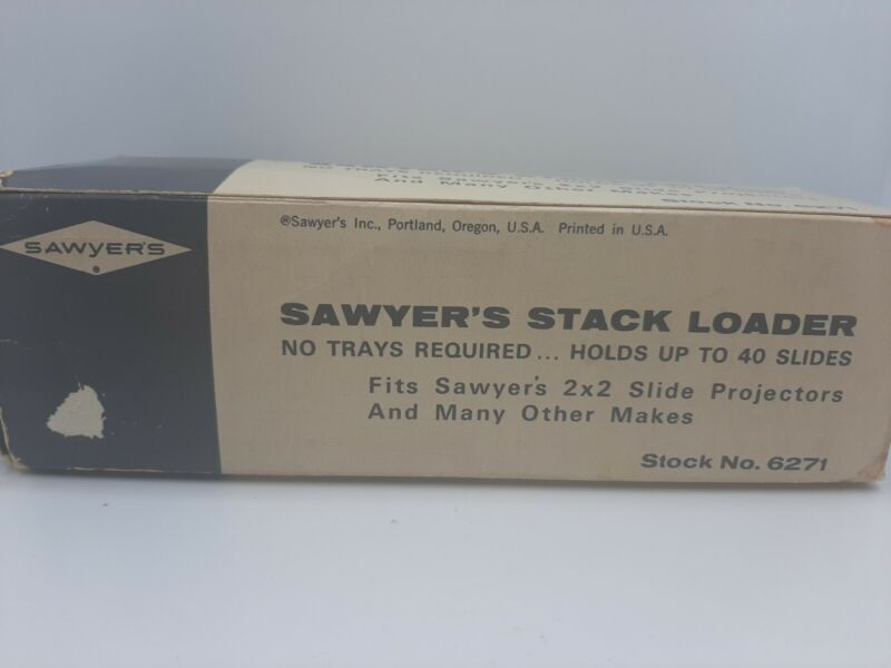 Sawyer's Stack Loader For Slide Projectors 40 Slides Stock #6271