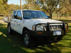2004 Nissan Navara DX ** BUDGET DUAL CAB READY TO WORK ** Rockingham Rockingham Area Preview