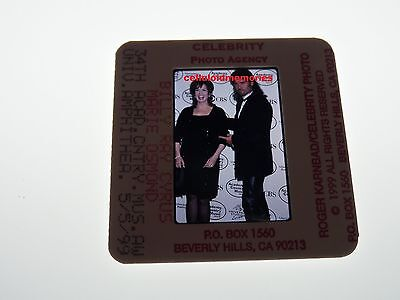 Original Photo 35mm Slide Billy Ray Cyrus & Marie Osmond # 8