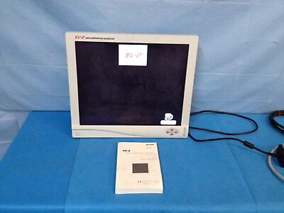 Stryker 19 Sv-2 High Definition Flat Screen Monitor 240-030-920 With Power Cord
