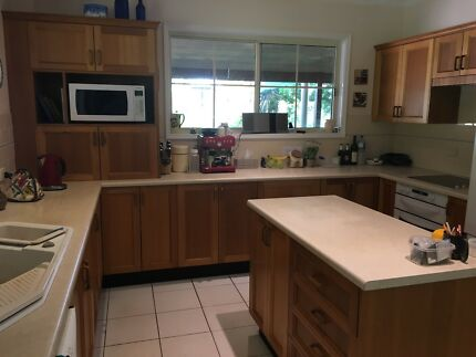 Kitchen  to recycle - Tasmanian Oak timber doors and panels