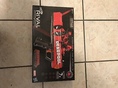 DEADPOOL NERF RIVAL APOLLO TOY GUN xv-700 marvel comics