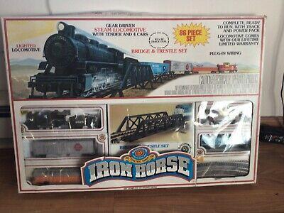 Bachman HO Iron Horse Train Set Model 00180