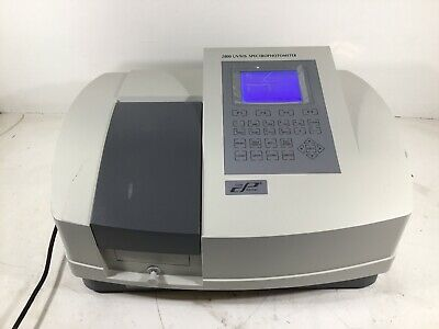 Cole-parmer Scanning Double-beam Uvvisible Spectrophotometer 115 Vac