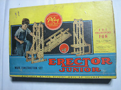 GILBERT ERECTOR JUNIOR SET NO. 1 - 1943