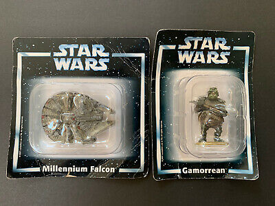 Star Wars Die Cast Millennium Falcon & Gamorrean 2007 Editions