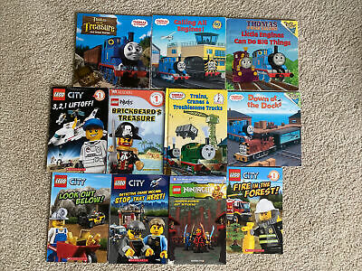 Lego And Thomas The Train Book Lot