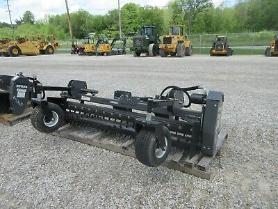 Spr96 96 Alitec Woods Harley Power Box Rake Soil Conditioner Skid Steer Loader