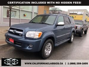 2007 Toyota Sequoia LIMITED! LEATHER! SUNROOF! - 4X4