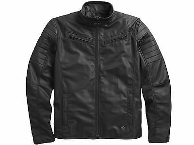 HARLEY-DAVIDSON GENUINE MENS SLIM FIT XL QUILTED RIDING JACKET  NEW WITH TAGS