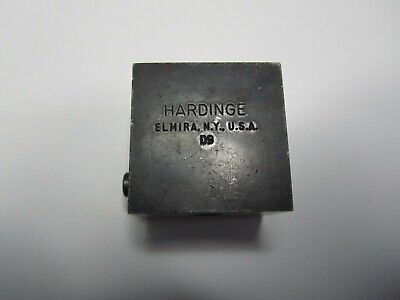 Hardinge D9 Style 38 Tool Holder Body Cross Slide Lathe Cutting Missing Wedge