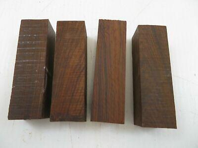 (4) Lote De 4 , Hermoso Madera Cocobolo Torneado Blanks 2.8cm X...