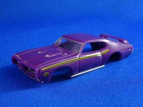 MoDEL MoToRING 69 Purple GTO Judge T-jet HO Scale Slot Car Body Aurora RRR