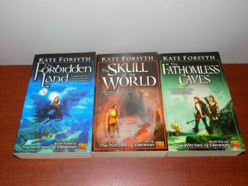 Lot of 3 books by Kate Forsyth PB Witches of Eileanan #4-6