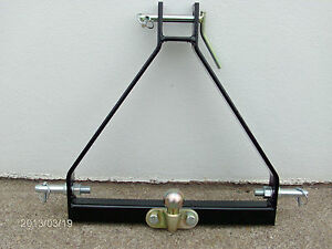 3-POINT-HITCH-COMPACT-TRACTOR-TOW-BALL-A-FRAME-LINKAGE