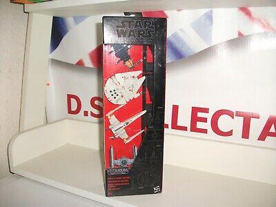 star wars Black series titanium MULTI PACK x-wing,falcon,tie die cast vehicles