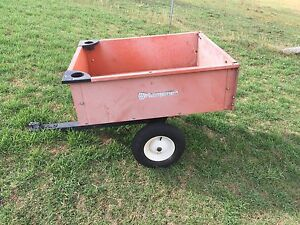 Husqvarna ride on mower trailer Warwick Southern Downs Preview