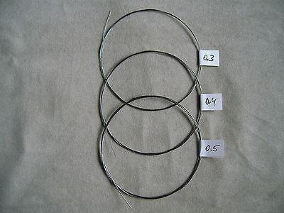 Federdraht für Uhrmacher Stahldraht  0,30 - 0,40 - 0,50 mm