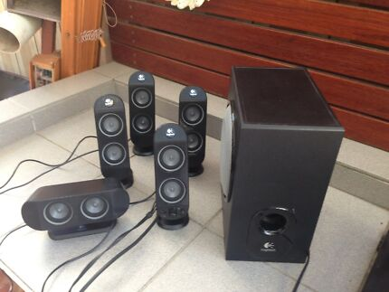 Logitech 5.1 surround sound system