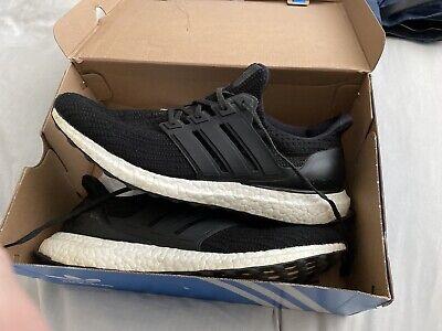 Adidas Ultra Boost Black & White - Size Uk 10