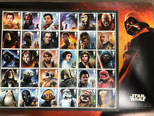 GREAT BRITAIN 2019 STAR WARS Complete Stamp SET OF 30 MNH