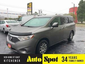 2011 Nissan Quest S/ LOW, LOW KMS/PRICED-QUICK SALE !