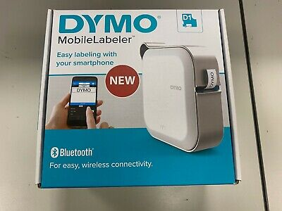 Dymo Mobilelabeler Label Maker With Bluetooth Smartphone Connectivity 1982172