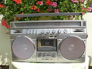 Sharp Stereo Radiorecorder Modell GF-8989 H