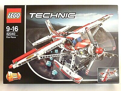 LEGO TECHNIC 42040 LÖSCHFLUGZEUG DÜSENFLUGZEUG FIRE ÜBERSCHALL JET PLANE NEU OVP